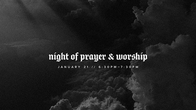 Night of Prayer and Worship